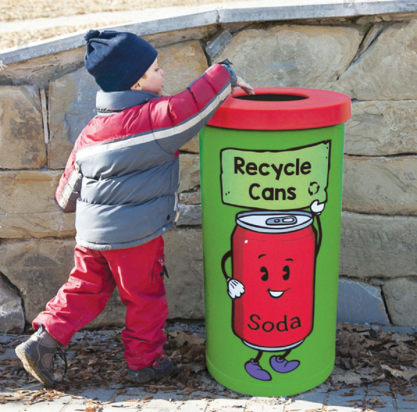 Character Recycling Bins